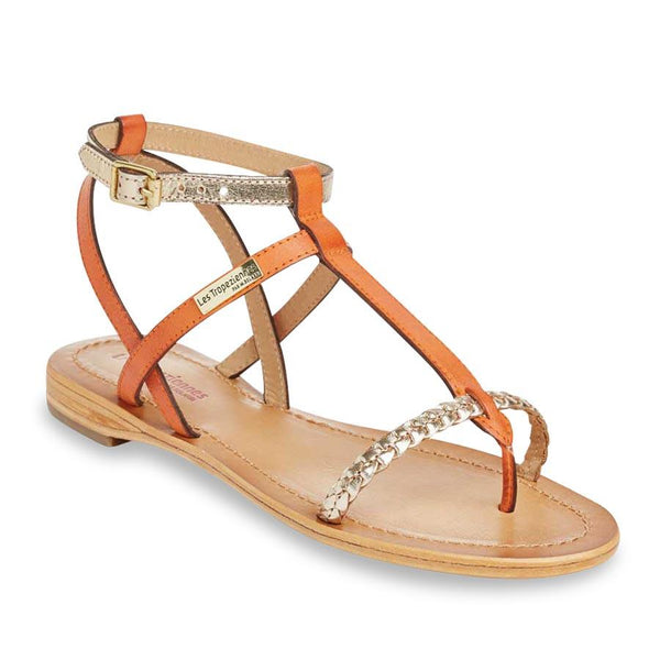 Hilatres sandals - orange/gold