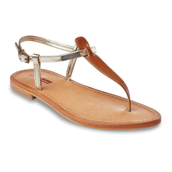 Narvil sandals - tan/gold