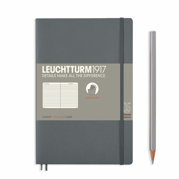 Notebook Paperback (B6+) Softcover - Anthracite