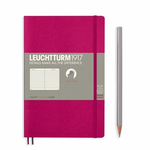 Notebook Paperback (B6+) Softcover - Berry