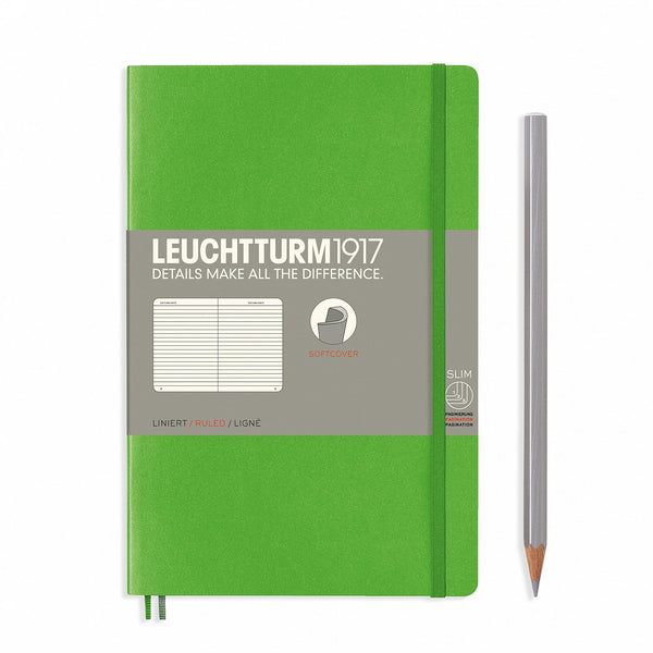 Notebook Paperback (B6+) Softcover - Fresh Green