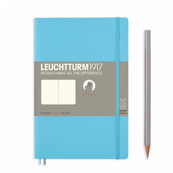 Leuchtturm1917 Notebook Paperback B6+ Softcover Ice Blue