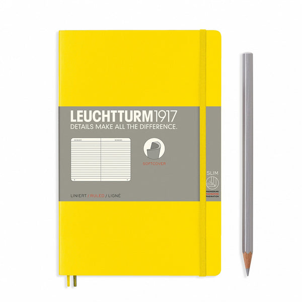 Notebook Paperback (B6+) Softcover - Lemon