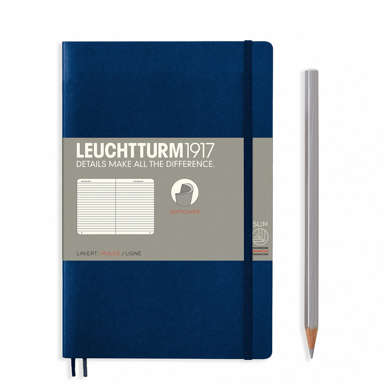 Notebook Paperback (B6+) Softcover - Navy