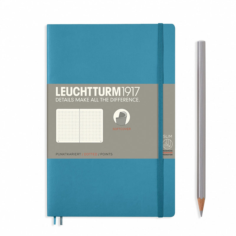 Notebook Paperback (B6+) Softcover - Nordic Blue