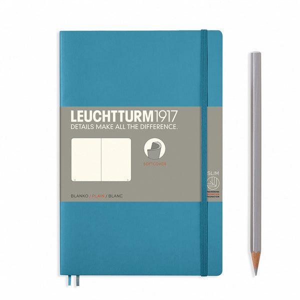 Leuchtturm1917 Notebook Paperback B6+ Softcover Nordic Blue