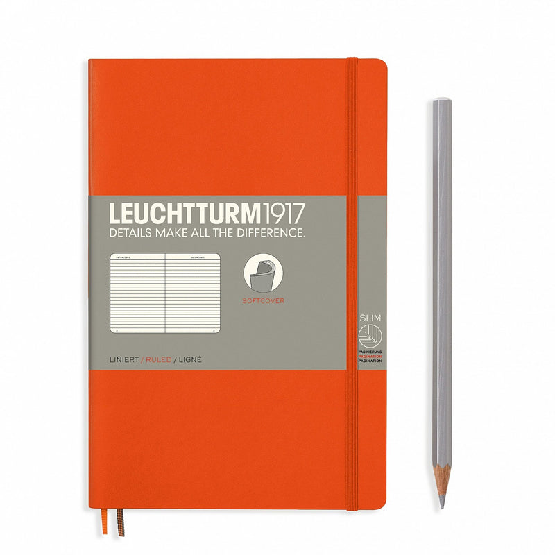 Notebook Paperback (B6+) Softcover - Orange