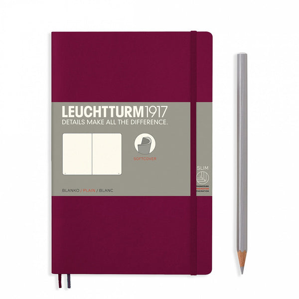 Leuchtturm1917 Notebook Paperback B6+ Softcover Port Red