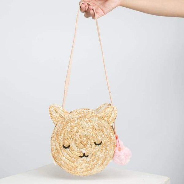 Meri Meri exclusive collection Cat Seagrass Bag