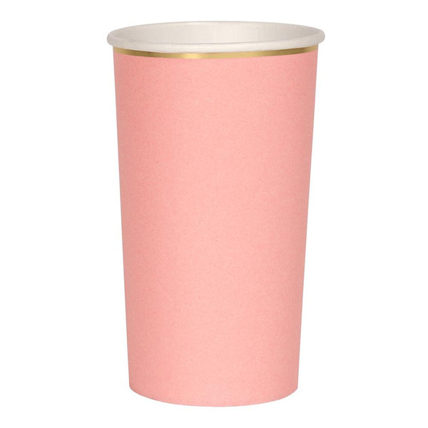Meri Meri exclusive collection neon pink highball cup