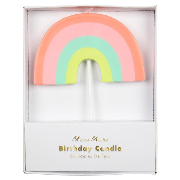 Meri Meri exclusive collection rainbow candle