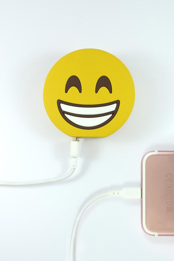 Mojipower Happy Double Face  2600 mAh Power Bank