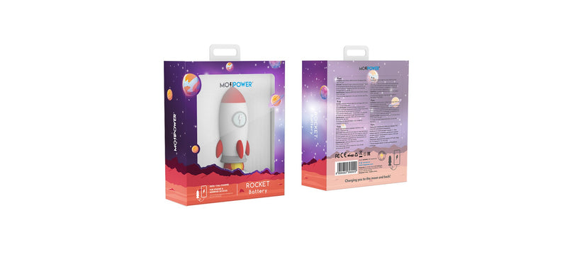 Mojipower Rocket  2600 mAh Power Bank