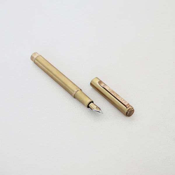 Monograph Fountain Ball Pen Brass