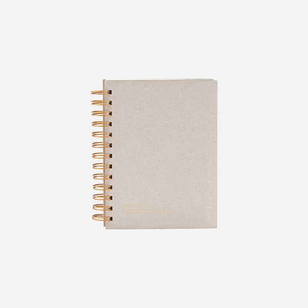 Monograph Notebook Grey 18x12 cm