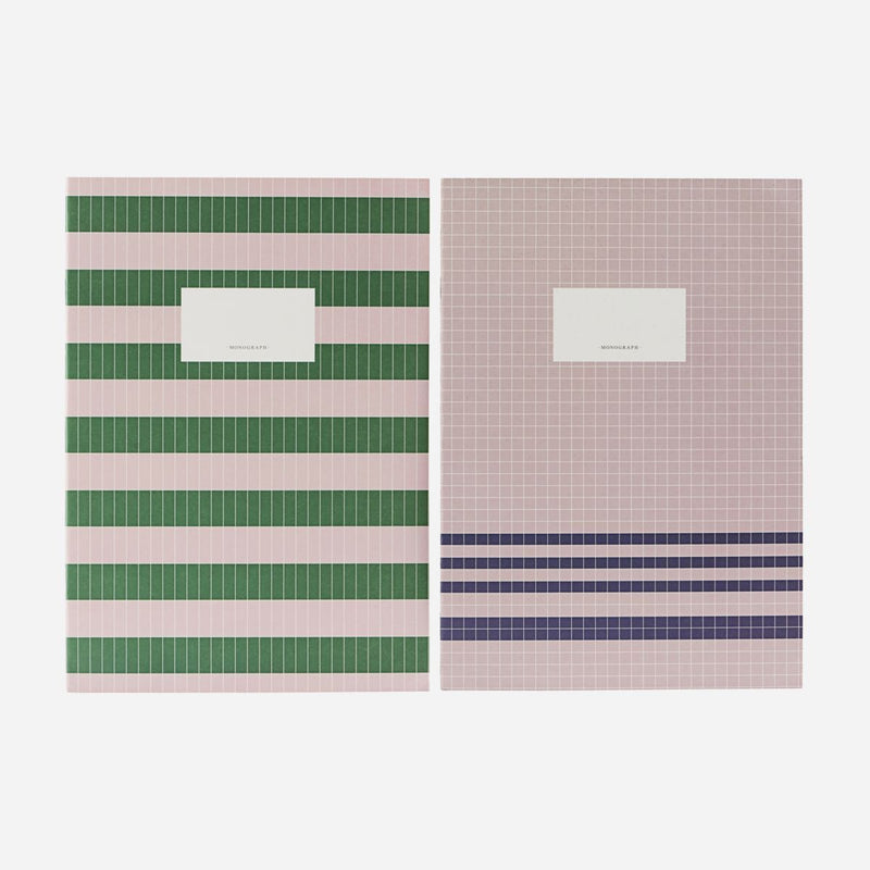 Monograph Set of Notebooks Nude Green 29.7x21 cm