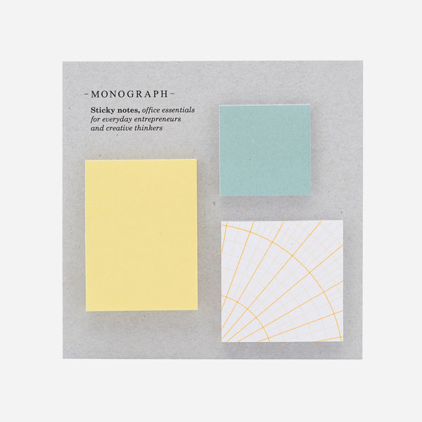 Monograph Square Sticky Notes