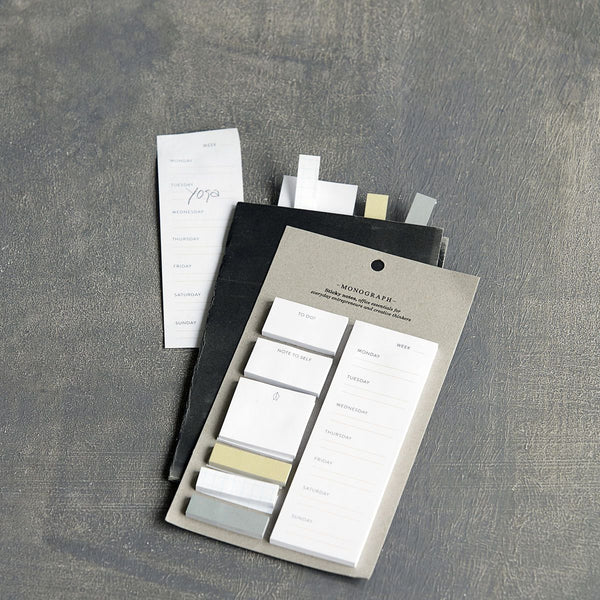 Monograph Sticky Notes