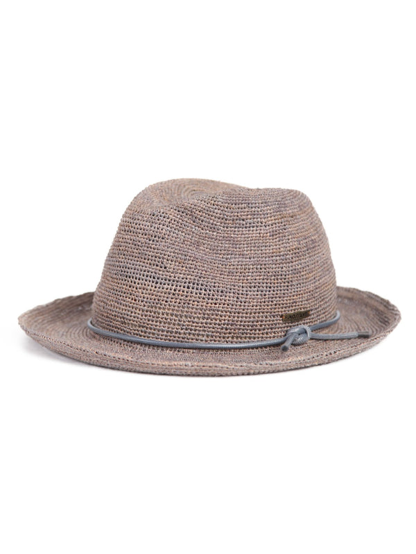 Mossant exclusive collection Linnett Panama hat - Grey