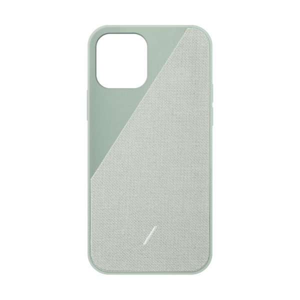 Native Union Clic Canvas iPhone Case Sage