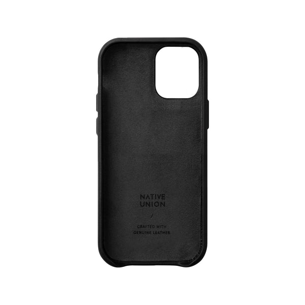 Native Union Clic Card iPhone Case Black