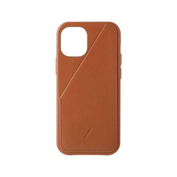 Native Union Clic Card iPhone Case Tan