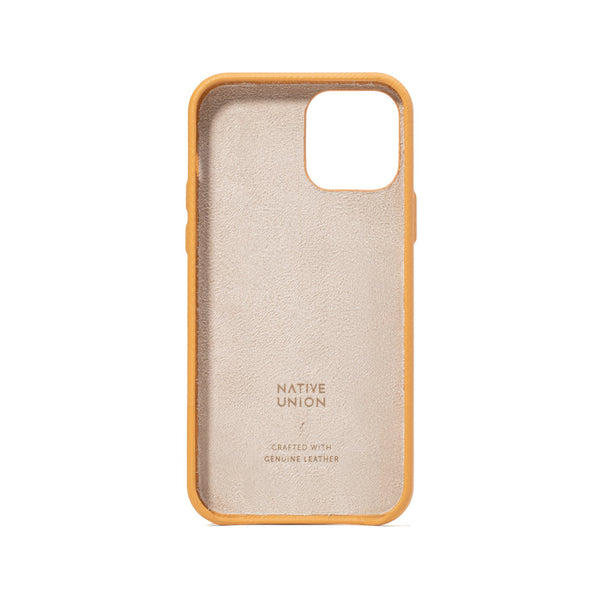 Native Union Clic Heritage iPhone Case Ocre