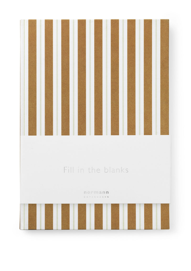 Normann Copenhagen Notebook Large Go Bananas
