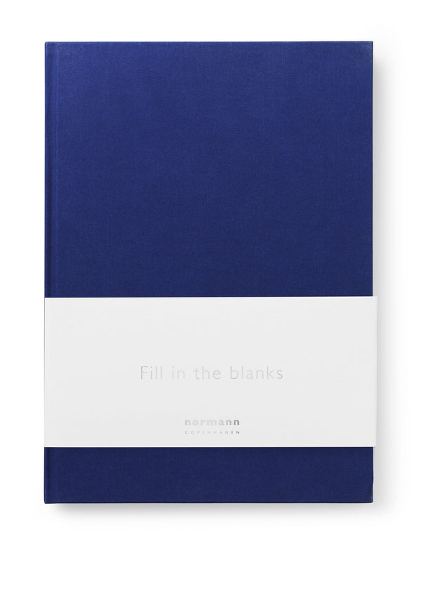 Normann Copenhagen Notebook Large Ink Blue