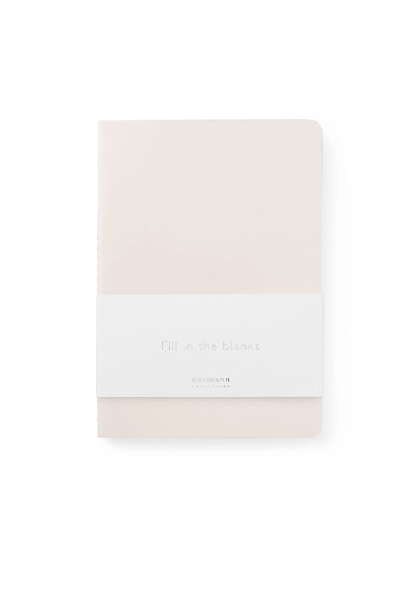 Normann Copenhagen Notebook Large 3 pcs Pink
