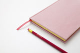 Normann Copenhagen Notebook Velour Large Blush