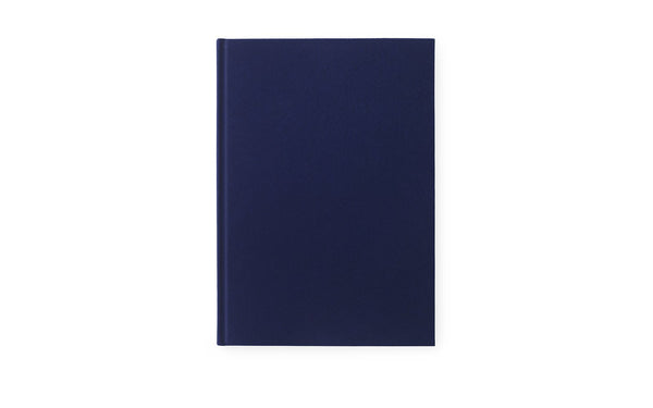 Normann Copenhagen Notebook Velour Large Ink blue