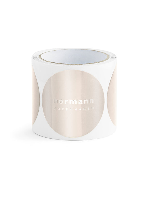 Normann Copenhagen Stickers Pale Rose