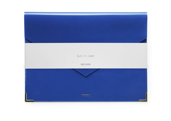 Normann Copenhagen Envelope Folder Large ink blue