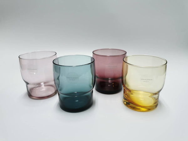 OFFICINE MURANO Set of 4 colour stack glass