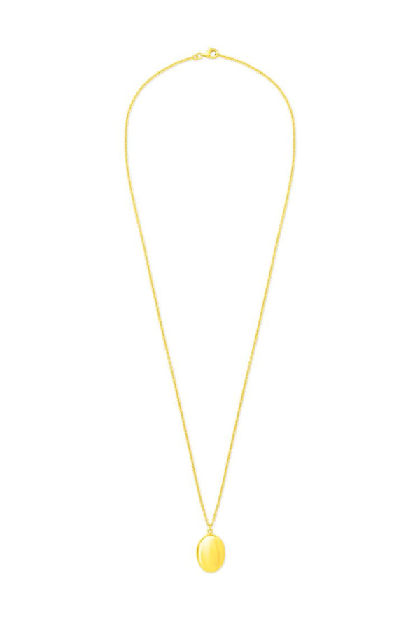 Pattaraphan Classic Locket Necklace gold