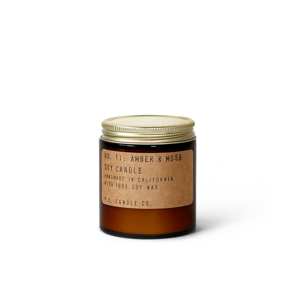 P.F Candle Co Soy Candle - Amber & Moss - 3.5oz