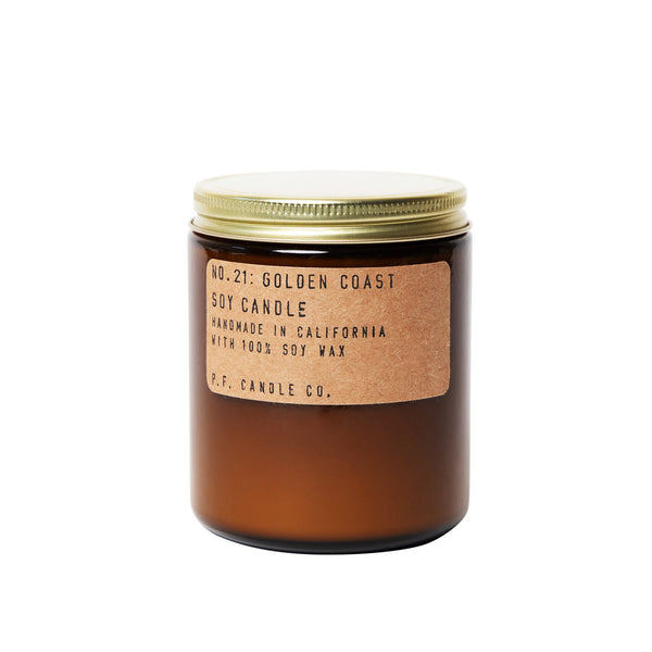 P.F Candle Co Soy Candle - Golden Coast Soy Candle - 7.2oz