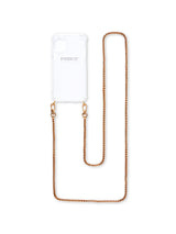 Phonie iPhone 11 Transparent Case with Clio Gold Chain S