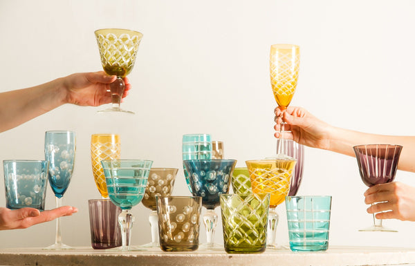 Pols Potten Cuttings Champagne Glasses