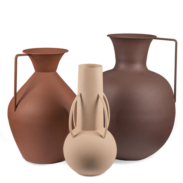 Pols Potten Roman Vases - Brown