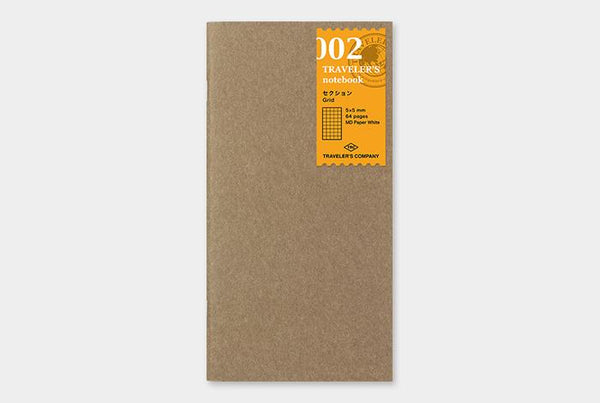 Refill 002 Grid Notebook Regular Size