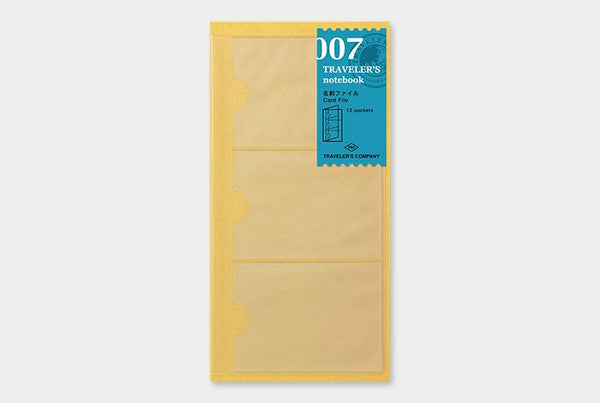 Refill 007 Card File Regular Size