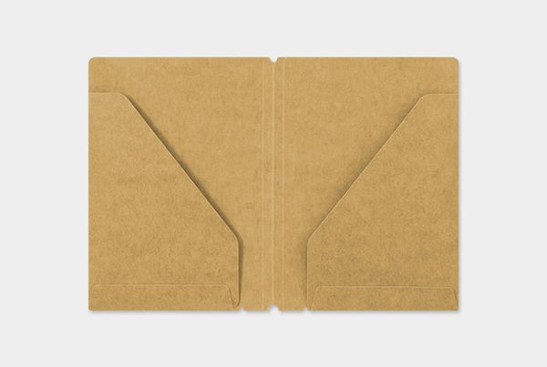 Refill 010 Kraft Paper Folder Passport Size