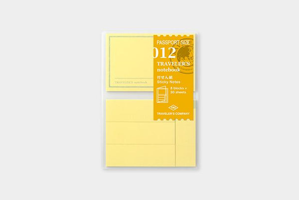 Refill 012 Sticky Notes Passport Size