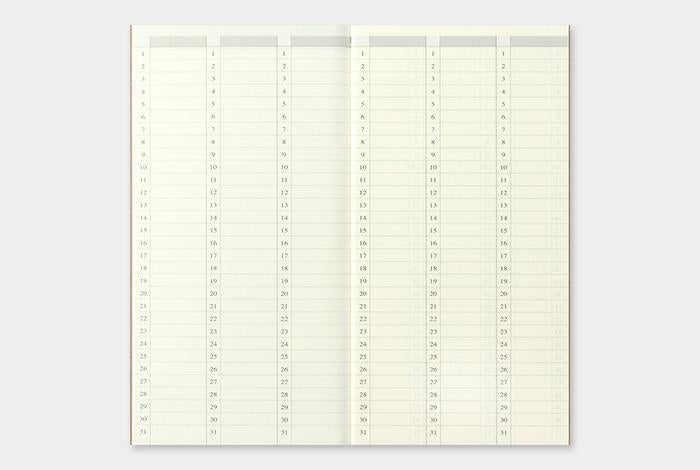 Refill 018 Free Diary Weekly Vertical Regular Size