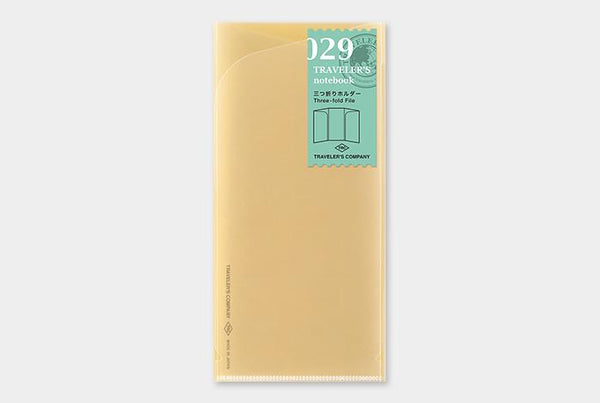 Refill 029 Three-fold File Regular Size