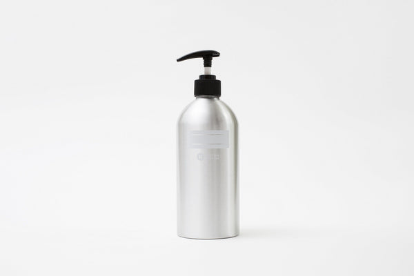 Refill Station Aluminium bottle with pump - 500ml