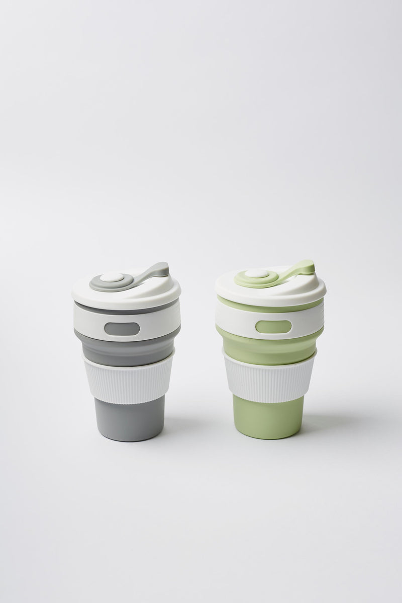 Refill Station Collapsible coffee cup