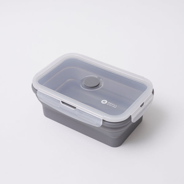 Refill Station Silicone lunch box - 1 section